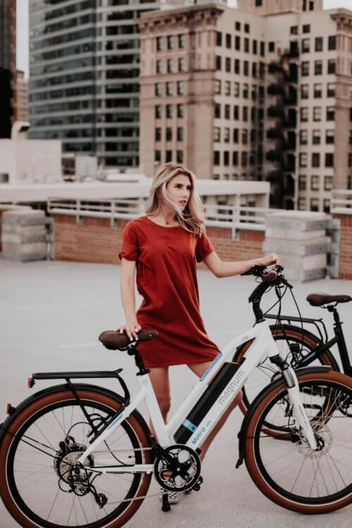 Magnum Metro Electric Bike City Cruiser-Electric Bicycle-Magnum-Voltaire Cycles of Verona