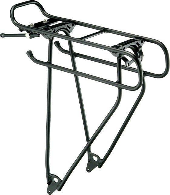 Racktime Addit Universal Rear Mount Rack: Black-Voltaire Cycles