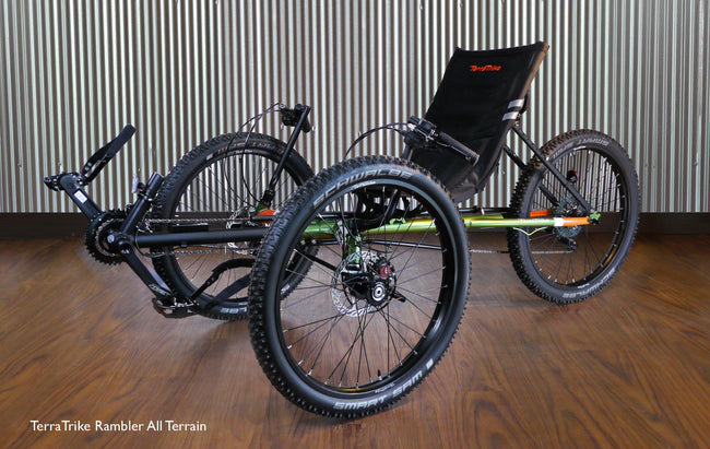 TerraTrike Rambler All-Terrain Recumbent Trike-Voltaire Cycles