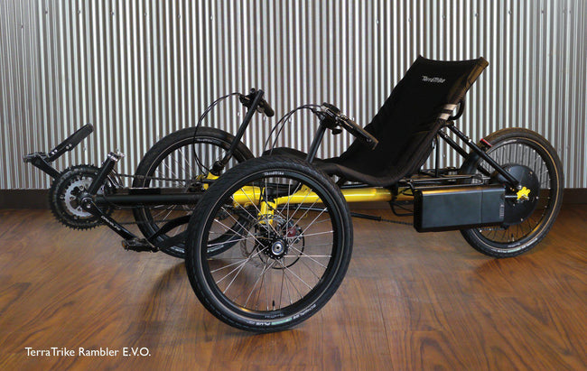 TerraTrike Rambler E.V.O. with E-Falco Power Assist-Voltaire Cycles