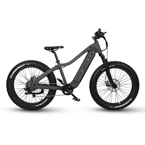 QuietKat Ranger Electric Fat Tire Bike Single Speed-Voltaire Cycles of Central Oregon