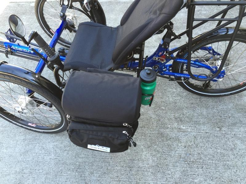 Arkel Handlebar Bag with Custom T-Cycle Clamps-Voltaire Cycles