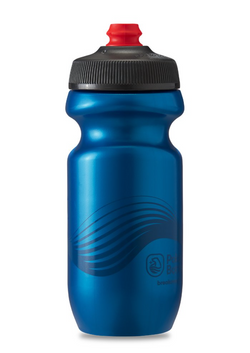 20 oz Breakaway Polar Bottle, 'Wave Deep Blue'-Voltaire Cycles of Central Oregon
