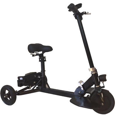 Glion Snap-N-Go Foldable Lightweight Electric Scooter-Voltaire Cycles