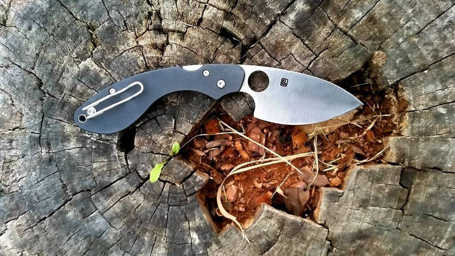 Spyderco Ouroboros Folding Knife (C207GP)-Voltaire Cycles