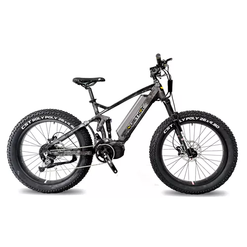 QuietKat Ridge Runner Electric Fat Tire Bike 26 x 4.8 tires-Voltaire Cycles of Central Oregon
