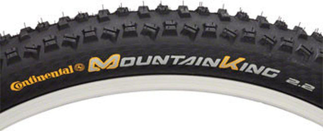 Continental Mountain King Tire 26x2.2 Steel Bead Black-Voltaire Cycles