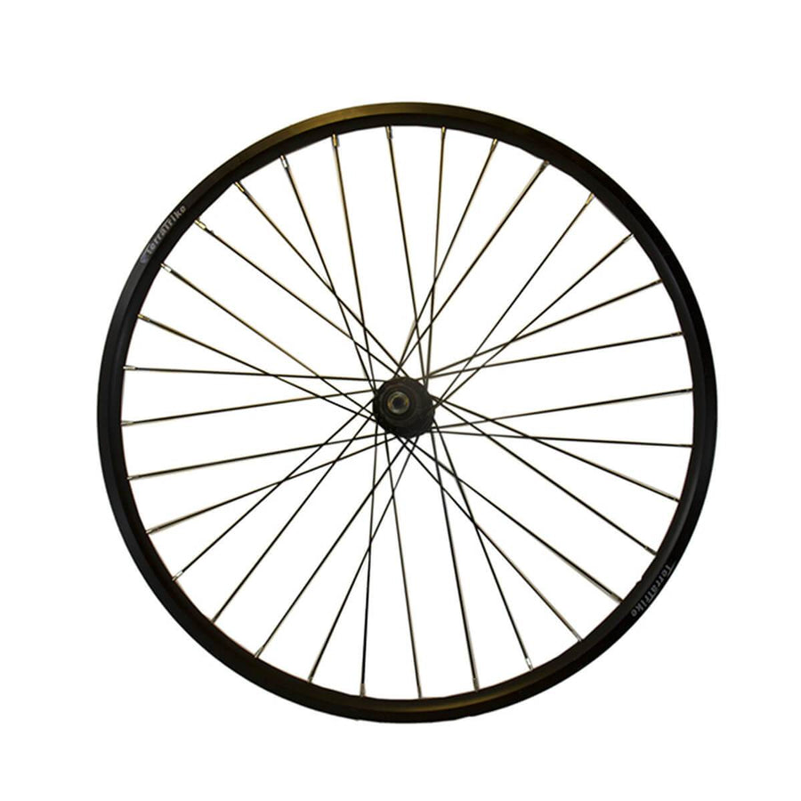 TerraTrike 26″ Rear Wheel – Double Wall – Black-Voltaire Cycles