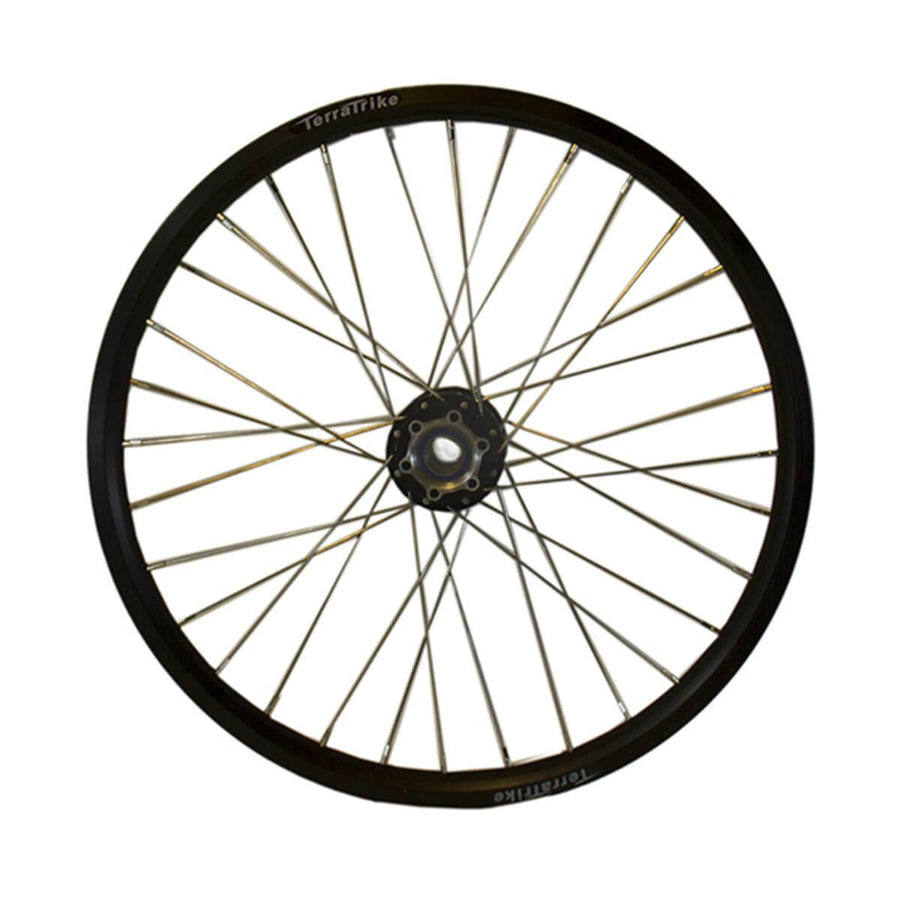 TerraTrike 20″ Front / Rear Wheel – Double Wall – Black-Voltaire Cycles