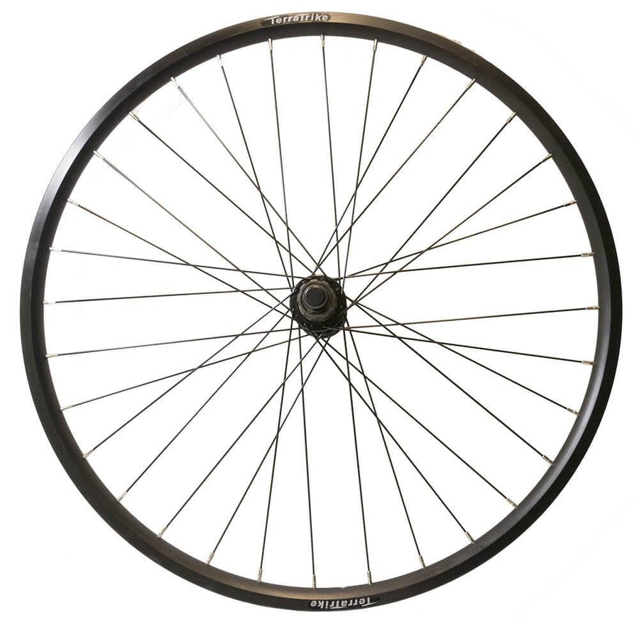 TerraTrike 24″ Front / Rear Wheel – Double Wall – Black-Voltaire Cycles