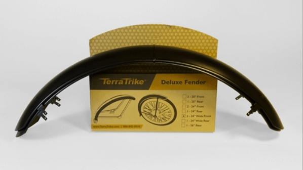 TerraTrike 24″ Front Fender Set – Extended Width (pair)-Voltaire Cycles