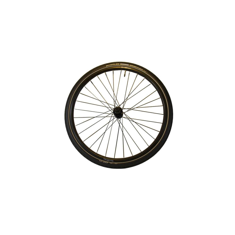 TerraTrike 26″ Rear Wheel Kit – Double Wall – Black – Marathon Tire-Voltaire Cycles