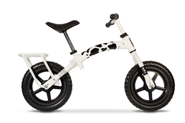 Yuba Flip Flop Cow Children's Balance Bike-Voltaire Cycles