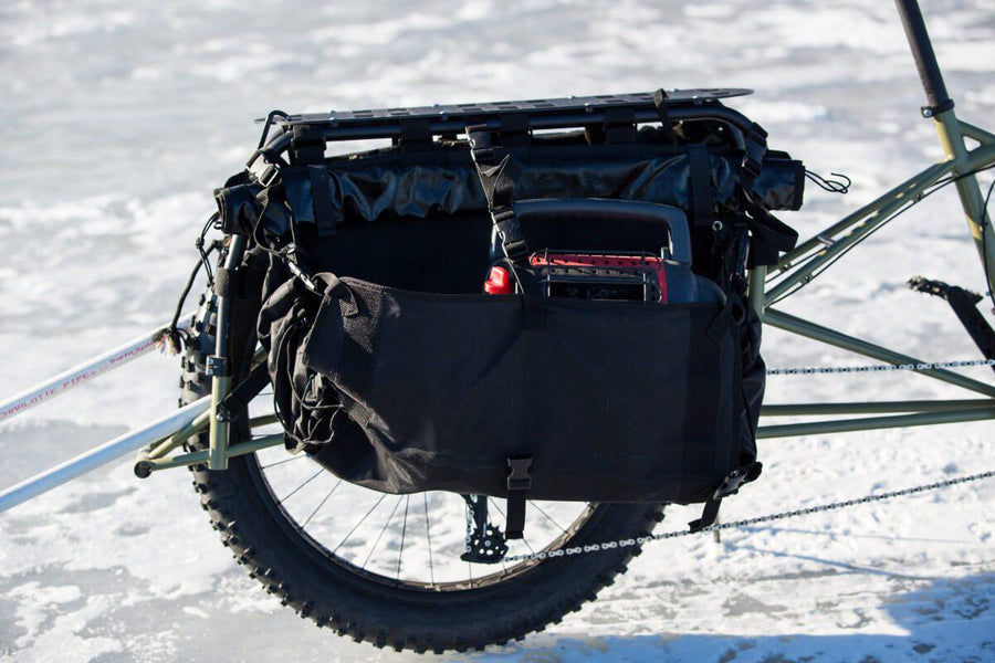 Surly Big Fat Dummy Off-Road Fat Tire Cargo Bike-Voltaire Cycles