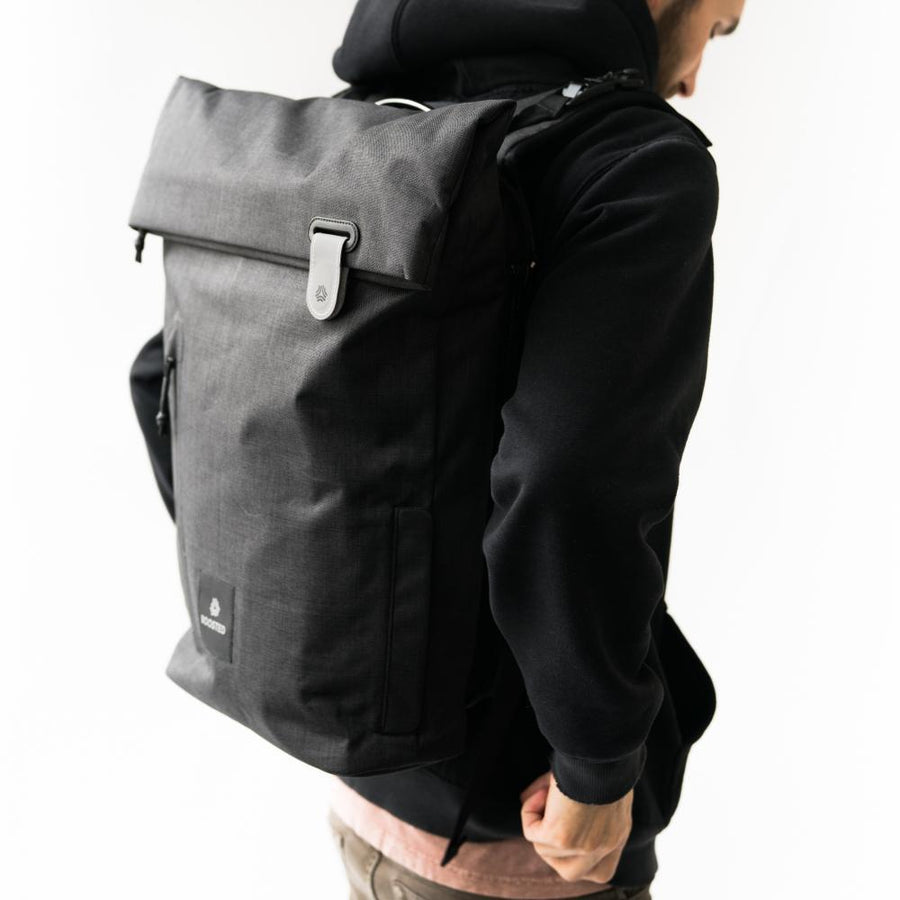 Boosted Backpack-Voltaire Cycles