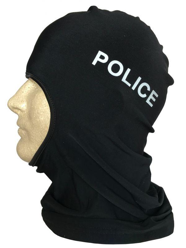 Balaclava with Police Logo-Voltaire Cycles