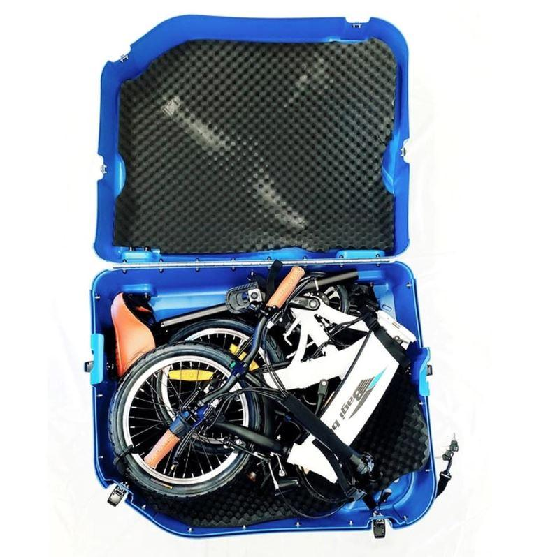 Bagi Bike CASE - Bagi Bike B16 Hard Shell Folding Bike Case-The Electric Spokes Company