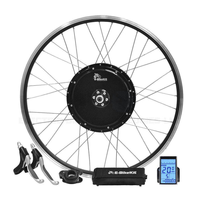 Heavy Duty E-Bike Conversion Kit - No Battery - Front Wheel-Voltaire Cycles