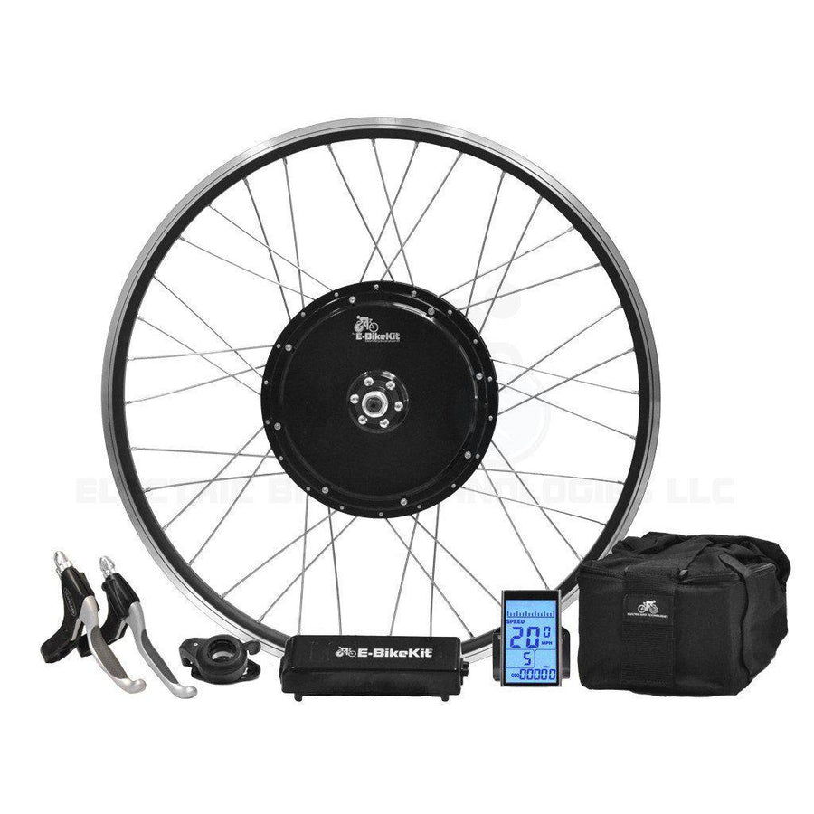 Heavy Duty E-Bike Conversion Kit - Lithium - Front Wheel-Voltaire Cycles