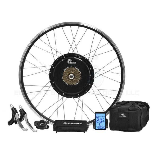Heavy Duty E-Bike Conversion Kit - Lithium - Rear Wheel-Voltaire Cycles