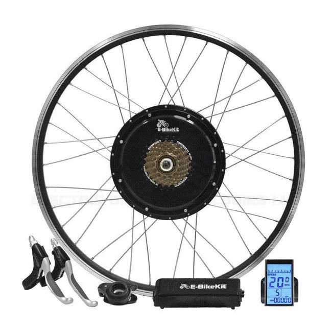 Heavy Duty E-Bike Conversion Kit - No Battery - Rear Wheel-Voltaire Cycles