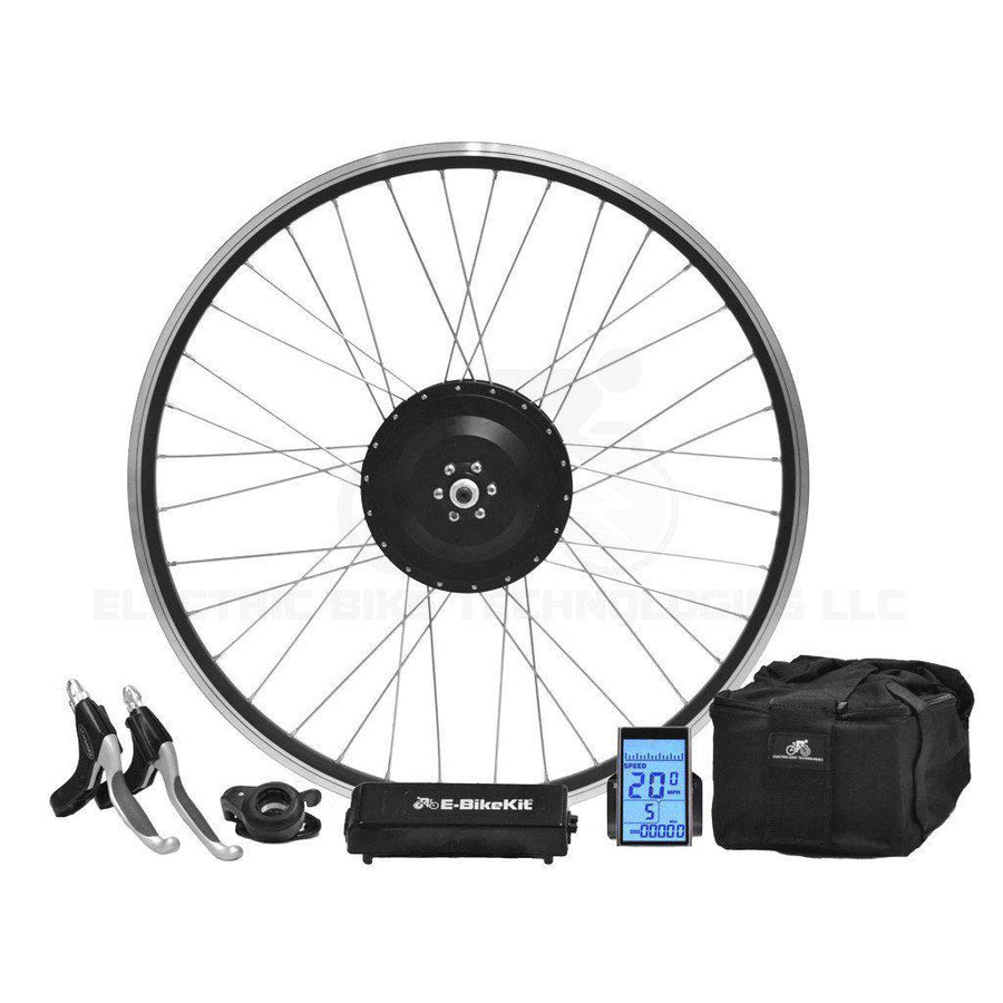 Performance E-Bike Conversion Kit - Lithium - Front Wheel - 26MPH-Voltaire Cycles