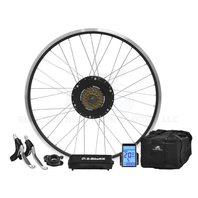 Performance E-Bike Conversion Kit - Lithium - Rear Wheel - 20MPH-Voltaire Cycles