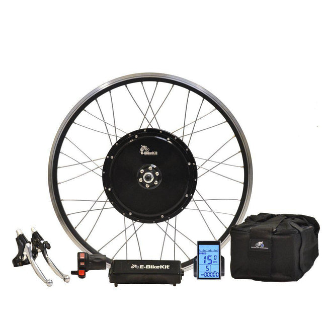 E-Trike Conversion Kit with Lithium-Ion Battery Pack-Voltaire Cycles