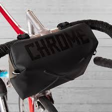 Chrome D.Klein Bicycle Handlebar Bag-Voltaire Cycles