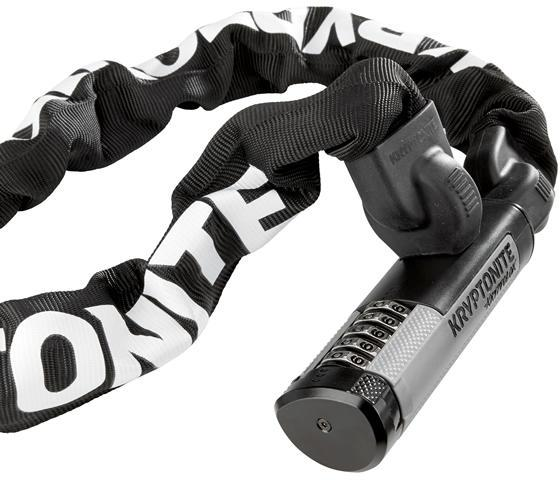 Kryptonite Kryptolok 912 Combo Chain Bicycle Lock-Voltaire Cycles