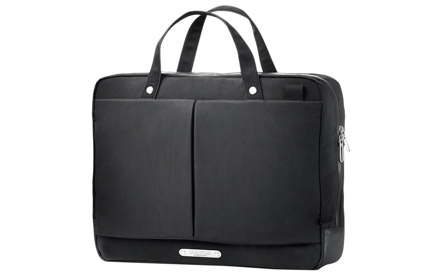 Brooks Street Briefcase w/ Klic Fix-Voltaire Cycles