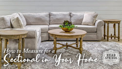 How to Measure for a Sectional in Your Home