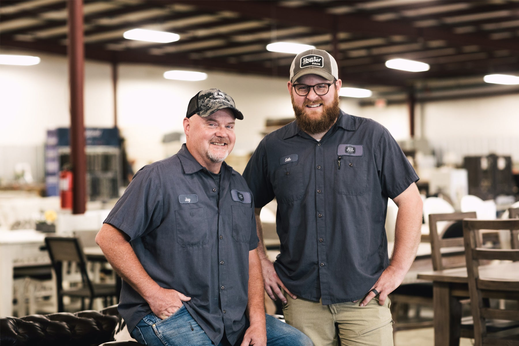 Jay and Seth Hall - Head Springs Depot Owners