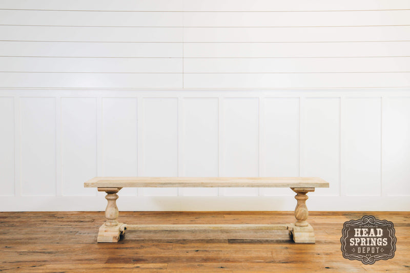 Artesia Dining Bench in Mango Hardwood