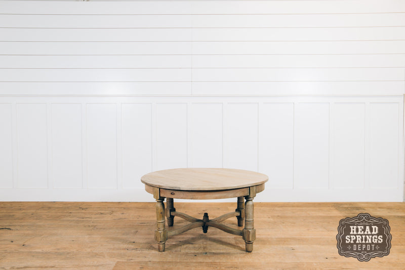 German Round Coffee Table