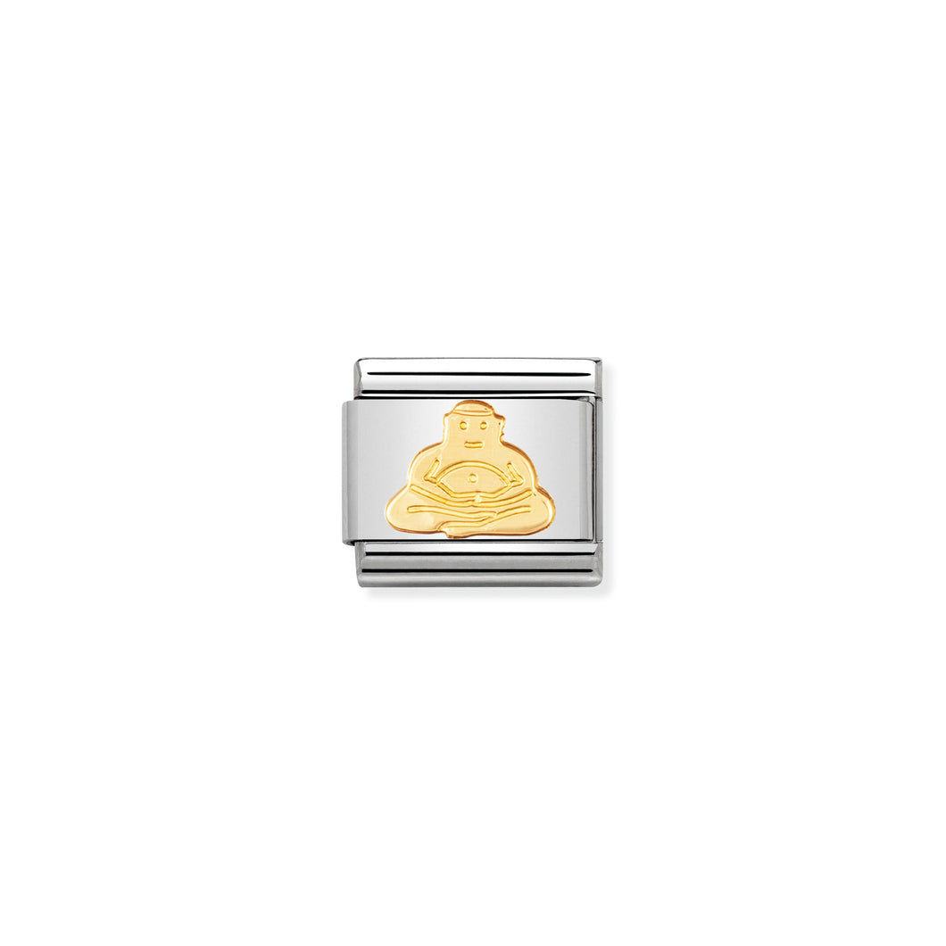 Composable Classic Link Buddha In 18k Gold