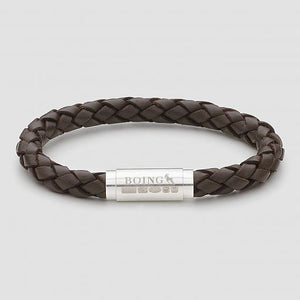 Brown Middy Leather Bracelet