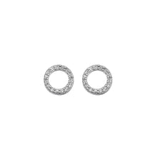 Load image into Gallery viewer, Striking Circle Earrings