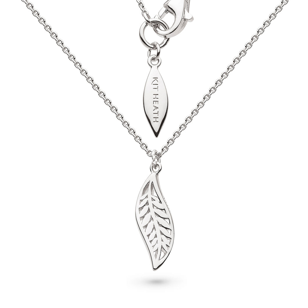 "Blossom Eden Mini Leaf 17"" Necklace"
