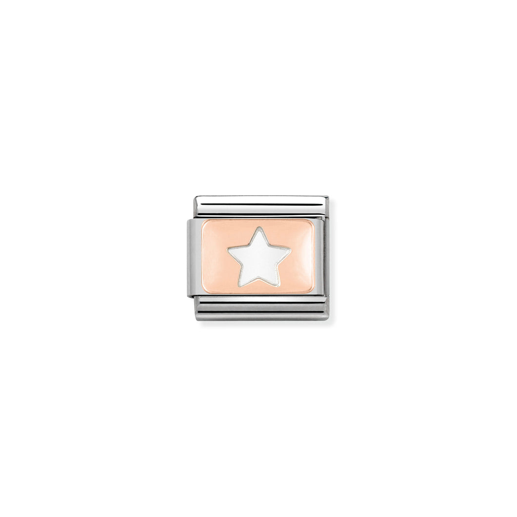 Composable Classic Link Rose Gold Star