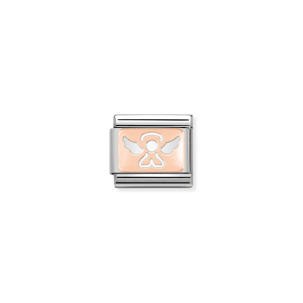 Composable Classic Link Rose Gold Angel