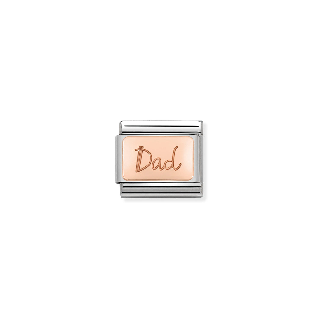 Composable Classic Link Rose Gold Dad