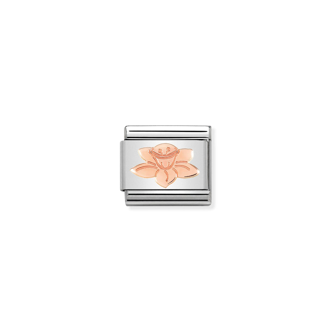 Composable Classic Link Rose Gold Daffodil