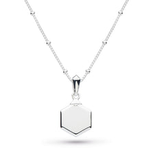 Load image into Gallery viewer, Empire Deco Hexagonal Necklace