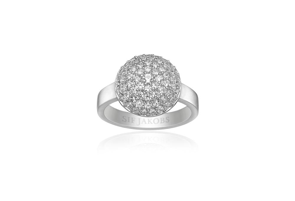 Ring Milan Piccolo With White Zirconia