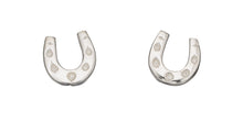 Load image into Gallery viewer, Small Horseshoe Stud Earrings