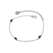 Load image into Gallery viewer, January Birthstone Bracelet