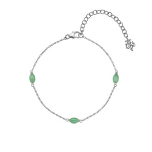 March Birthstone Bracelet