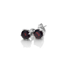 Load image into Gallery viewer, January Birthstone Earrings