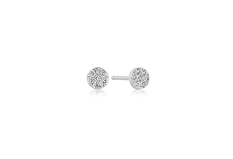 Earrings Cecina With White Zirconia